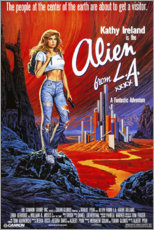 Tableau sur toile  Alien from L.A. (anglais) - Entertainment Collection