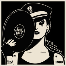 Tableau en PVC  Rude Girls Records I - dolceQ