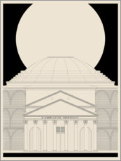 Poster  Panthéon - dolceQ