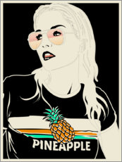 Tableau sur toile  Ananas - dolceQ
