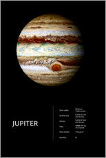 Poster  Jupiter (anglais) - Art Couture