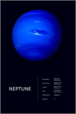 Poster  Neptune (anglais) - Art Couture