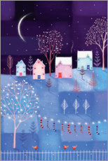 Poster Nuit d'hiver
