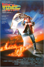 Poster  Retour vers le futur (anglais) - Entertainment Collection
