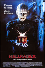 Poster  Hellraiser (anglais) - Entertainment Collection