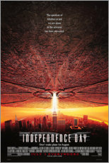 Poster  Independence Day (anglais) - Entertainment Collection