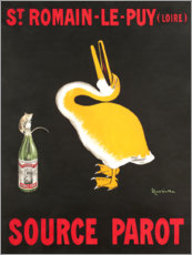Poster  Source Parot Saint-Romain-Le-Puy - Leonetto Cappiello