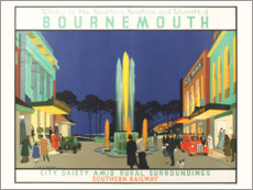 Poster  Bournemouth (anglais) - Henry George Gawthorn