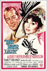 Poster My Fair Lady (anglais)