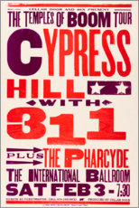 Poster  Cypress Hill with 311, Concert 1996 - Entertainment Collection