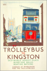 Poster  Trolleybus pour Kingston (anglais) - Gregory Brown