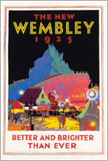 Tableau en verre acrylique  The new Wembley 1925 (anglais) - Gregory Brown