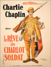 Poster  Charlot Soldat - Entertainment Collection