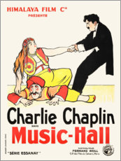 Poster  Charlot au music-hall - Entertainment Collection