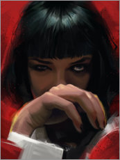 Poster Mia Wallace