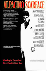 Sticker mural  Scarface (anglais) - Entertainment Collection