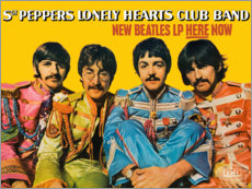 Poster  Sgt. Pepper's Lonely Hearts Club Band - Entertainment Collection