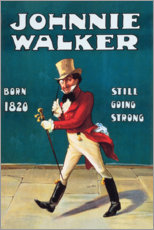 Tableau en plexi-alu  Johnny Walker (anglais)