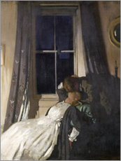 Tableau en aluminium  Nuit II - Sir William Orpen