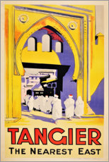 Poster  Tanger, l'est le plus proche (anglais) - Travel Collection