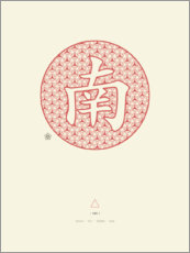 Poster Feng Shui Sud