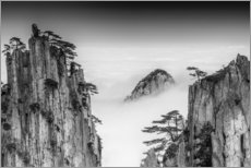 Tableau sur toile  Monts Huang en Chine - Chenzhe