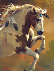 Poster Cheval sauvage