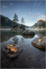 Poster Ambiance d'automne au Hintersee