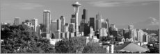 Poster  Skyline de Seattle