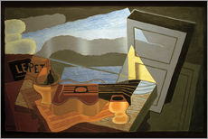 Sticker mural  View of the Bay - Juan Gris