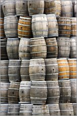 Sticker mural  Wine barrels - Dennis Flaherty
