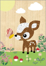 Sticker mural  Bambi - GreenNest