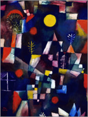 Sticker mural  La pleine lune - Paul Klee