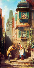 Sticker mural  The Eternal Bridegroom - Carl Spitzweg