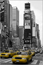 Tableau en plexi-alu  NEW YORK CITY Times Square - Melanie Viola