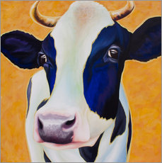 Tableau en plexi-alu  Cow Angelika - Renate Berghaus
