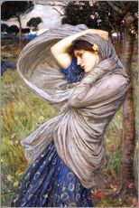 Sticker mural  Borée - John William Waterhouse