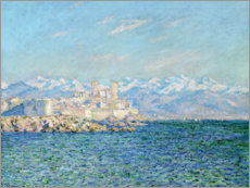 Poster  Le Fort d'Antibes - Claude Monet