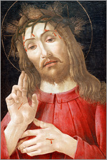 Tableau en plexi-alu  Christ as Man of Sorrows - Sandro Botticelli