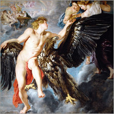 Sticker mural  Abduction of Ganymede - Peter Paul Rubens
