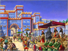 Tableau en PVC  New Year's Day in Babylon - Peter Jackson