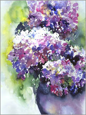 Sticker mural  Hydrangeas - Jitka Krause