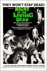 Tableau en plexi-alu  Night of the Living Dead