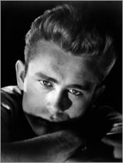 Sticker mural  James Dean