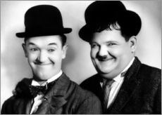 Sticker mural  Laurel & Hardy