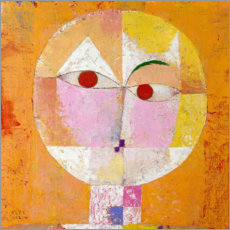 Sticker mural  Senecio - Paul Klee