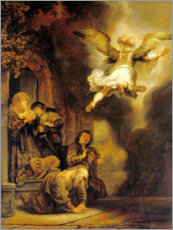 Poster Archangel Raphael leaves the family of Tobias