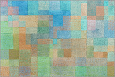 Sticker mural  Polyphonie - Paul Klee