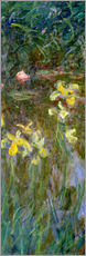 Sticker mural  Jonquilles - Claude Monet