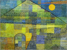 Sticker mural  Ad Parnassum - Paul Klee